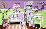 Best Bacati布団セット - Botanical Purple 10 pc Crib Bedding Set Review