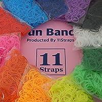 11Straps Fun BANDS ルームバンド オリジナルセット 約7200個 (12色×各約600個)