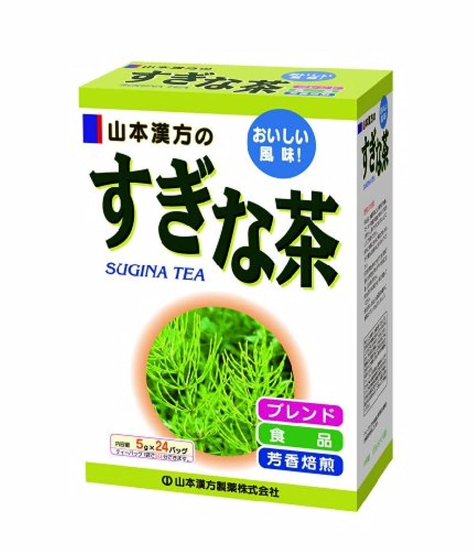 トリムオン学ぶ山本漢方製薬 すぎな茶 5gX24H