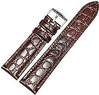 ノーブランド品 腕時計ベルト ショパール ティソ オメガ ゲス 取付けタイプ 20mm 5Colors LB195-BR [並行輸入品]