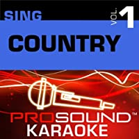 Sing Country Vol. 1 [KARAOKE]