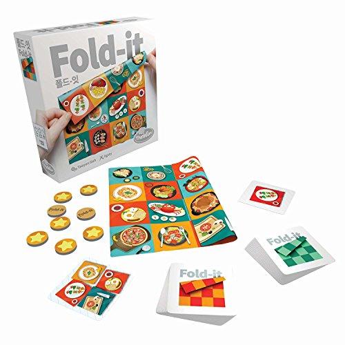 ThinkFun fold-it Brainteaser Challenge Game