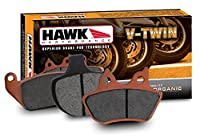Hawk Performance HMC200HH Metallic Motorcycle Brake Pad Set [並行輸入品]