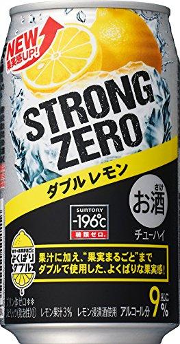 サントリー チューハイ-196℃ストロングゼロ<ダブルレモン> 350ml×24缶