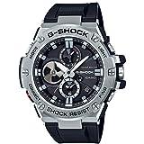 [カシオ]CASIO 腕時計 G-SHOCK ジーショック G-STEEL スマートフォン リンク GST-B100-1AJF メンズ