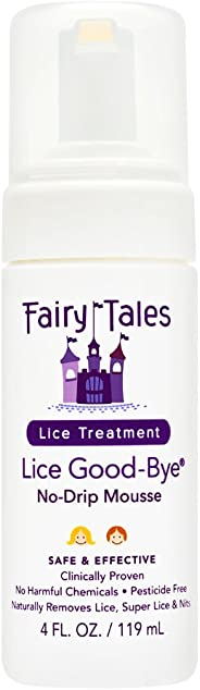Fairy Tale Lice Goodbye Non Toxic Removal Kit, 4 Oz
