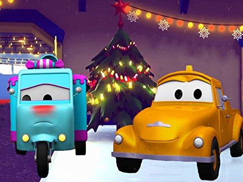 チェリー収穫車&キャンディーカーそして, レッカー車のトム, (子供向け)車&トラックの 建設アニメ