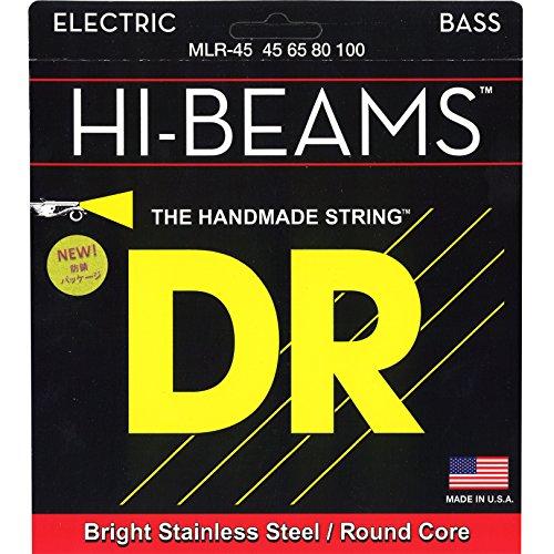 DR ベース弦 HI-BEAM ステンレス .045-.100 MLR-45