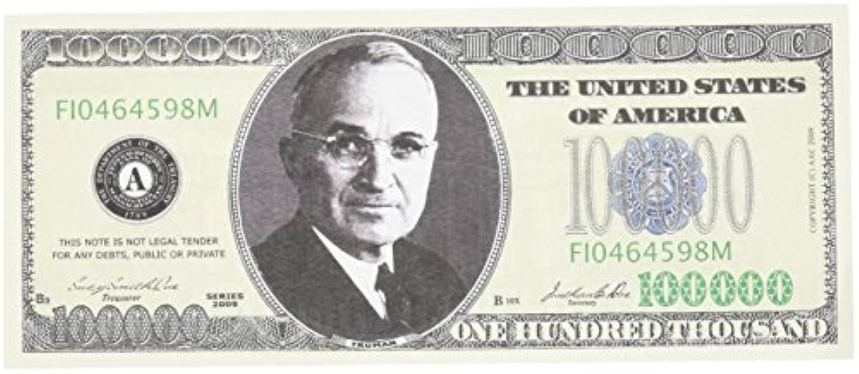 SET OF 100 BILLS-100,000.00 CASINO PARTY MONEY by Novelties Wholesale [並行輸入品]