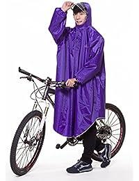 レインコート 自転車 バイク ロング ポンチョ 男女兼用 通勤通学 フリーサイズ 軽量 完全防水 収納袋付き