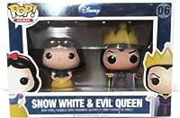 Disney Snow White & Evil Queen - Funko Pop! Minis by Funko LLC [並行輸入品]