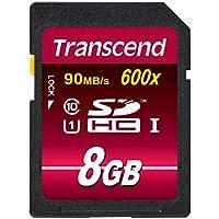 Transcend SDHCカード 8GB Class10 UHS-I 対応 (最大転送速度90MB/s) TS8GSDHC10U1