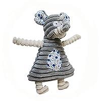 KDFHGLA 絶妙なかわいいタキシード動物のウサギの象のおもちゃのペットの犬のぬいぐるみペットのおもちゃ KDFHGLA (Color : Color Elephant)
