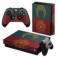 igsticker Xbox One X 専用 スキンシール 正面・天面・底面・コントローラー 全面セット エックスボックス シール 保護 フィルム ステッカー 005957