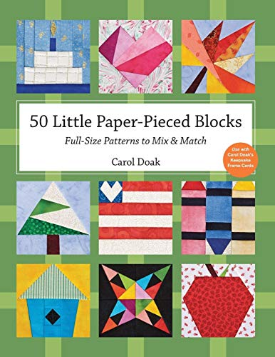Download 50 Little Paper-Pieced Blocks: Full-Size Patterns to Mix & Match 1607055317
