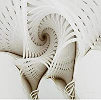 Gyqsouga カスタム壁紙壁画3Dステレオ抽象的な幾何学模様壁画モダンなリビングルームテレビの背景壁の装飾-350X230CM