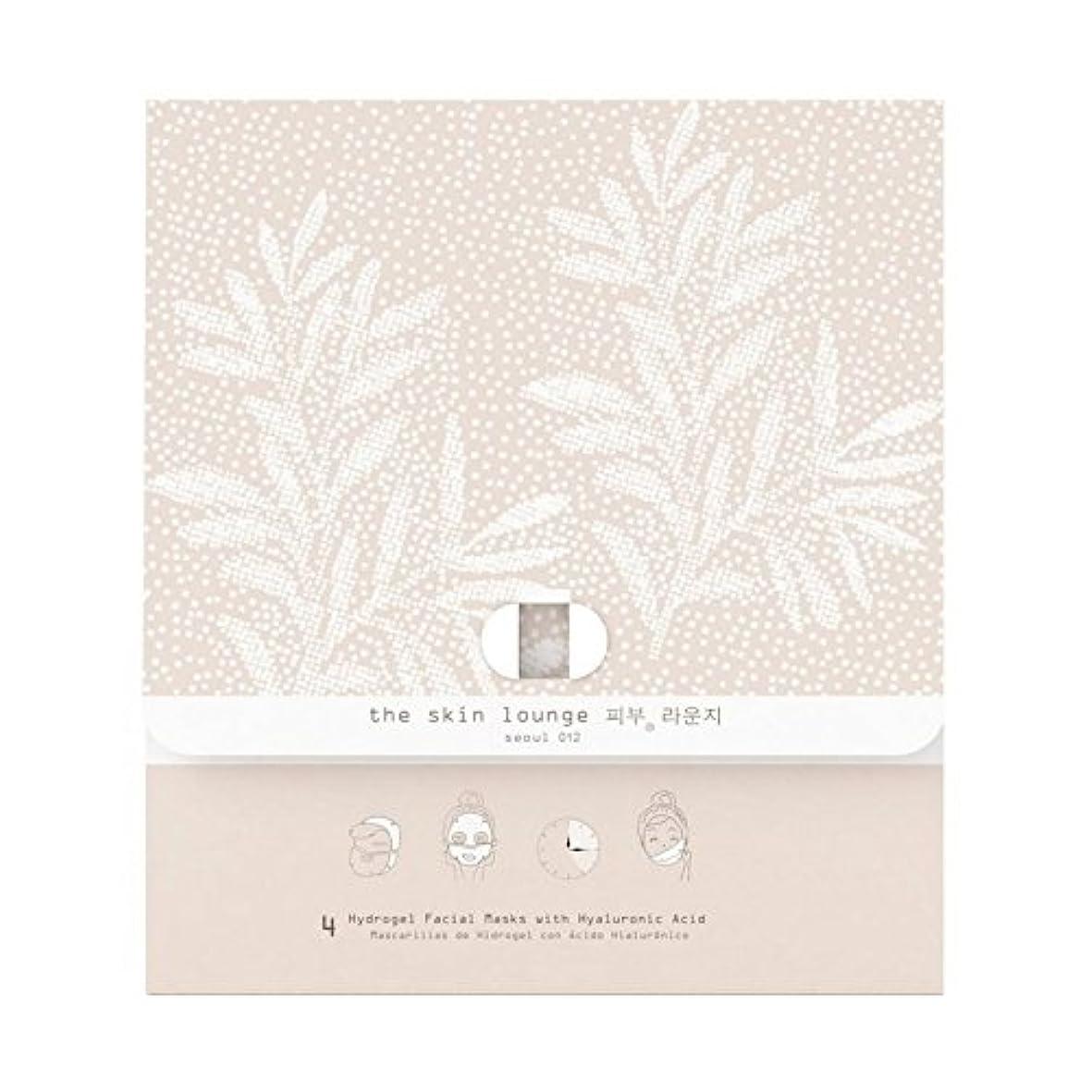 のスコア骨折溶岩4の皮膚ラウンジヒドロゲルヘクタールパック x2 - The Skin Lounge Hydrogel HA Pack of 4 (Pack of 2) [並行輸入品]