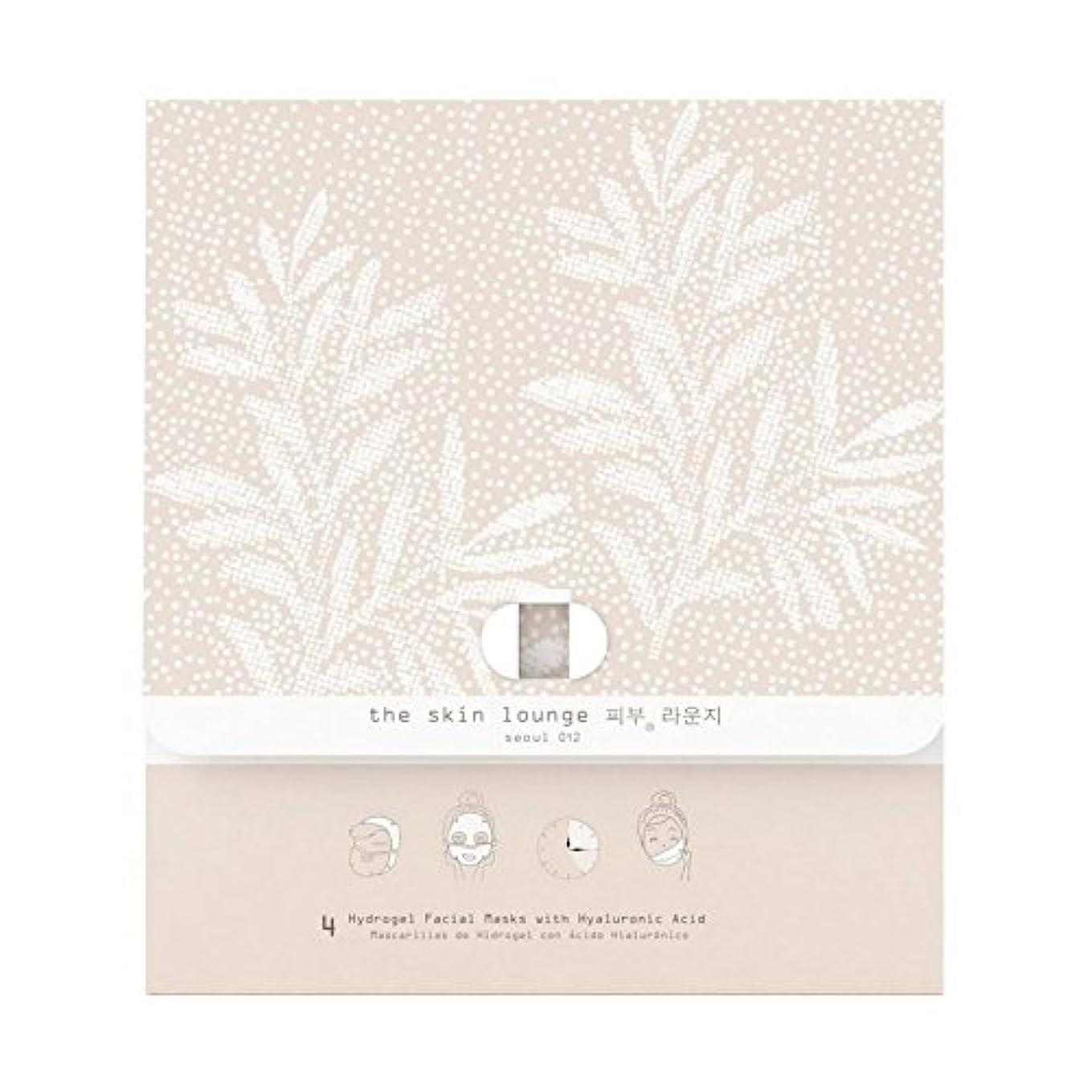 ピザ癌博物館4の皮膚ラウンジヒドロゲルヘクタールパック x4 - The Skin Lounge Hydrogel HA Pack of 4 (Pack of 4) [並行輸入品]