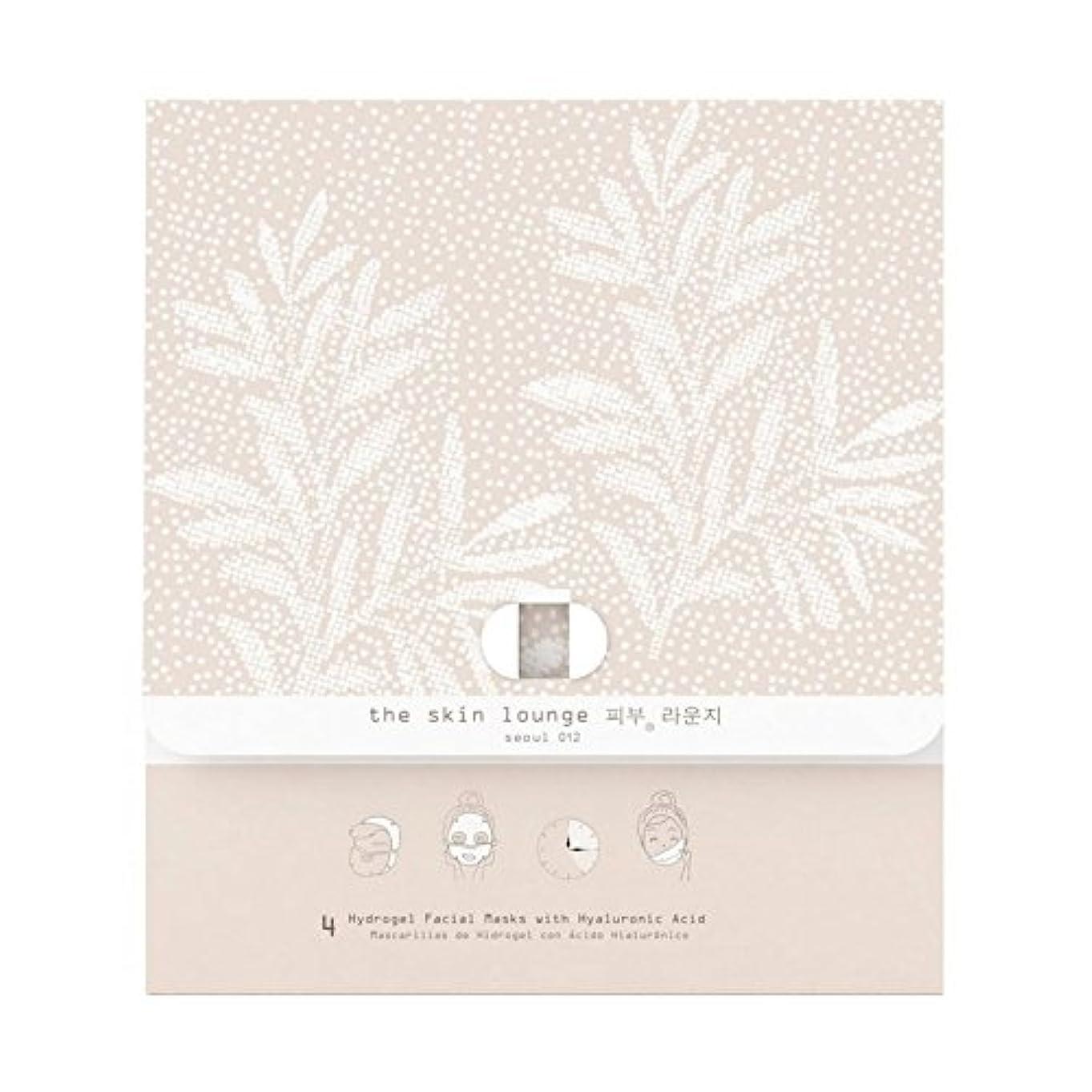 スカルクエンティティ鉄4の皮膚ラウンジヒドロゲルヘクタールパック x4 - The Skin Lounge Hydrogel HA Pack of 4 (Pack of 4) [並行輸入品]