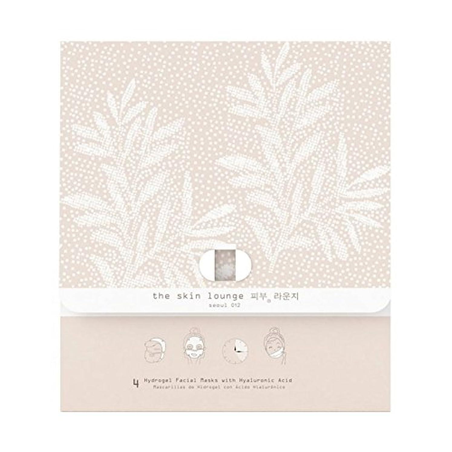 怠感日焼け韓国語The Skin Lounge Hydrogel HA Pack of 4 - 4の皮膚ラウンジヒドロゲルヘクタールパック [並行輸入品]