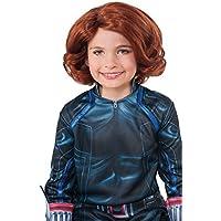 Avengers 2 Age of Ultron Child's Black Widow Wig [並行輸入品]
