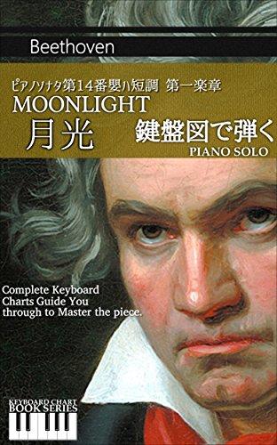 ピアノソナタ第14番嬰ハ短調 月光 第一楽章 鍵盤図シリーズ