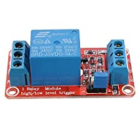 Prament 5 v 1 チャネル H/L トリガーカプラリレーモジュールの Arduino