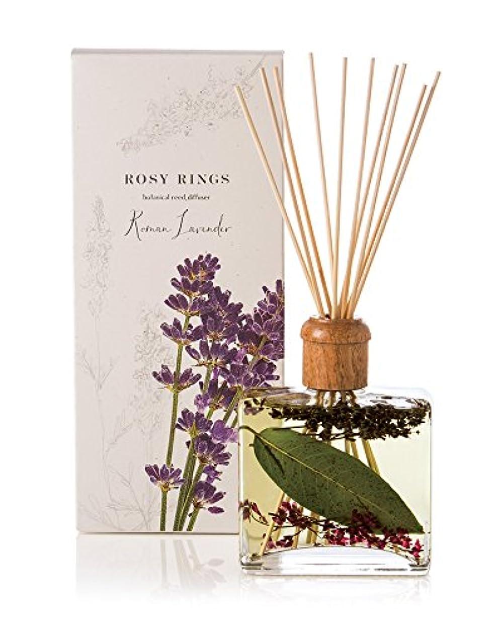 くるくる軽食以降ロージーリングス ボタニカルリードディフューザー ロマンラベンダー ROSY RINGS Signature Collection Botanical Reed Diffuser – Roman Lavender