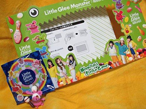ラウンドワン×リトグリ【フォトフレーム&モンスターミニチャーム(ピンク1種)】Little Glee Monster