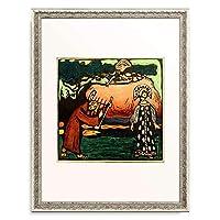 ワシリー・カンディンスキー Wassily Kandinsky (Vassily Kandinsky) 「The Dulcimer player」 額装アート作品