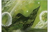 冷蔵庫用マグネット Fridge Magnet rative Vet Practice Krakowski Green Bird