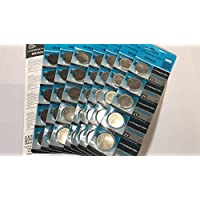 TUO® 40個 高性能 CR2032 ボタン電池 3v 2032 リチウムコイン電池