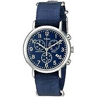 Timex Men's Weekender Chronograph Slip-Thru Strap Watch