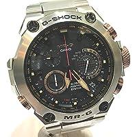 (カシオ) CASIO MRG-G1000D-1AJR GPSハイブリッド電波ソーラー G-SHOCK MR-G メンズ 腕時計 腕時計 チタン メンズ 新品同様 中古