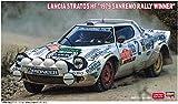 ハセガワ 1/24 ランチア ストラトス HF 1979 サンレモ ラリー ウィナー プラモデル 20440