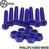 ETOW PHILLIPS HARD WARE エトヲ フィリップス ハードウェア ビス ナット 6カラーx4サイズ