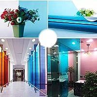 色 双方向メンブレン デコレーション 窓フィルム, ガラスフィルム 日焼け止め 日光バリア のために適した ホームオフィス 窓用ステッカー-M-30×100センチメートル(12×39インチ)