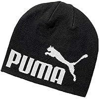 PUMA Men's ESS Big CAT Beanie, Puma Black, Adult
