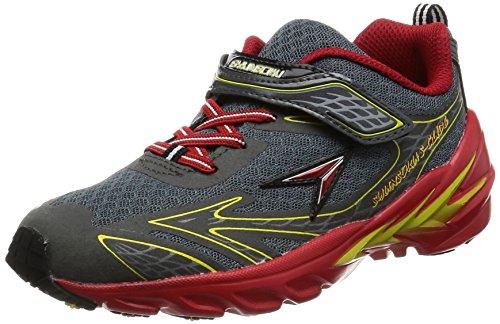 [シュンソク] 運動靴 S-GLIDESJJ 2930 ガンメタ 22.5 cm