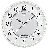 シチズン 電波 ソーラー 掛け時計 アナログ エコライフM788 エコマーク グリーン購入法 適合商品 オフィス 白 CITIZEN 4MY788-003