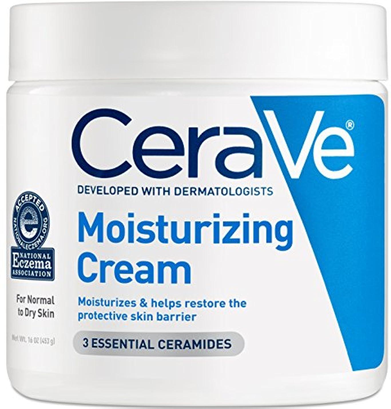 湿地水っぽい保険海外直送品Cerave Cerave Moisturizing Cream, 16 oz