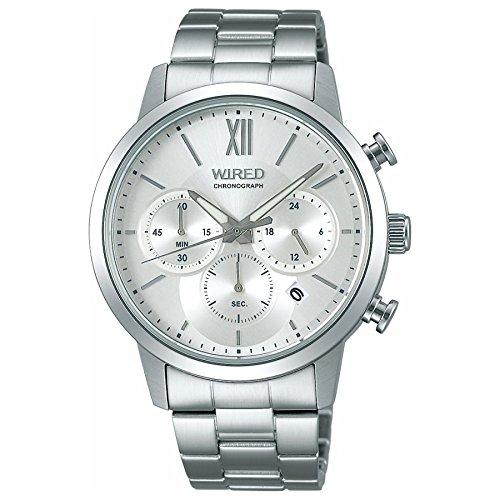 [SEIKO 아마존 세이코 신착 시계] [와이어드]WIRED 손목시계 WIRED 크로노그래프 페어 모델 크로노그래프 10기압 방수 AGAT414 맨즈-AGAT414 (2017-10-07)