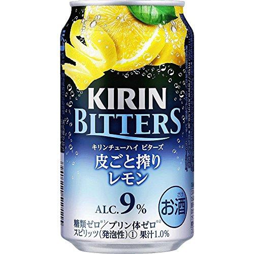 キリンチューハイ ビターズ 皮ごと搾りレモン 350mlの詳細を見る