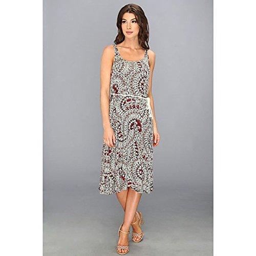 (スリードッツ) Three Dots レディース ドレス パーティドレス Sleevless Scoop Neck Midi Dress 並行輸入品