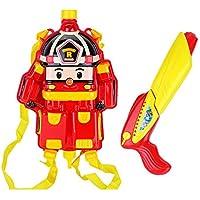 夏の屋外の赤ちゃんのおもちゃの銃プールとビーチのゲーム、水の撮影のおもちゃと漫画のアニメのバックパック ( Color : A )