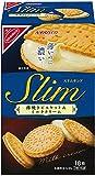 ヤマザキビスケット スリムサンド薄焼きビスケット&ミルククリーム 18枚×5箱