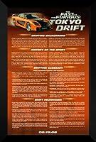 Fast and Furious Tokyo Drift FRAMED 27x 40映画ポスター