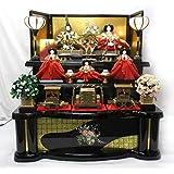 大型 雛人形 五人飾り 雛つづり 雅泉