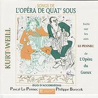 Songs of the Three Penny Opera