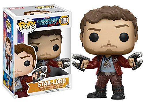 Marvel(マーベル) Guardians of the Galaxy Vol. 2(ガーディアンズ・オブ・ギャラクシー: リミックス) Star-Lord(ピーター・クイル/スター・ロード) FUNKO/ファンコ POP MARVEL VINYL ボブルヘッド